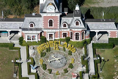 マイケル・ジャクソンさんの豪邸「ネバーランド」が124億円で販売へ