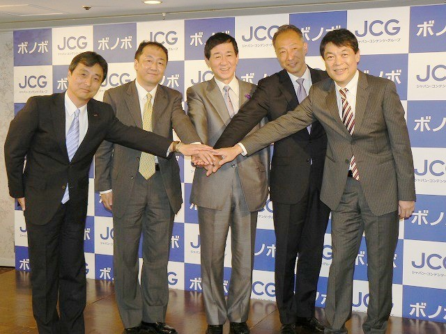 JCG設立し直営型映像配信サービス「ボノボ」を今秋スタート