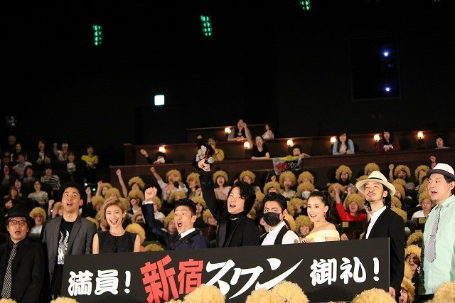 綾野剛、山田孝之のメイクにツッコミ「ざわちんが来ました」