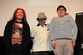 ホラートークを繰り広げた高橋ヨシキ&田野辺尚人「女優霊」