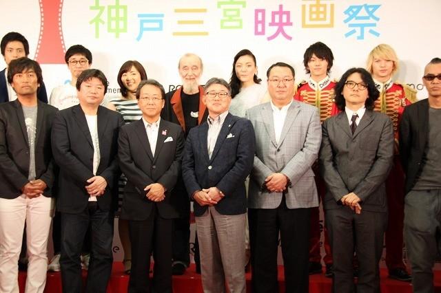 「2015年 神戸三宮映画祭」開幕!本広克行監督、岩井俊二監督らが会見