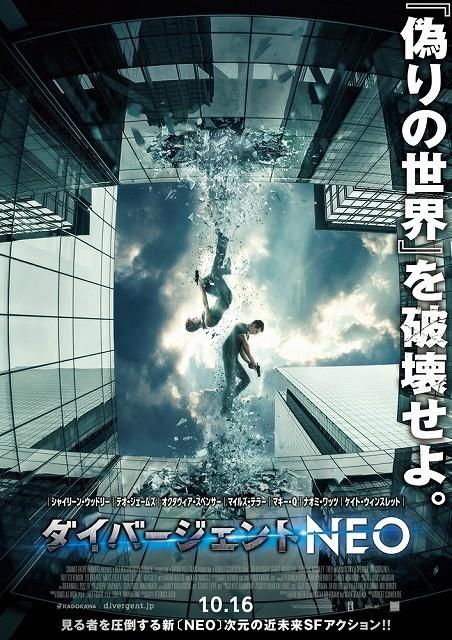 前作からスケールアップ!「ダイバージェントNEO」10月公開決定