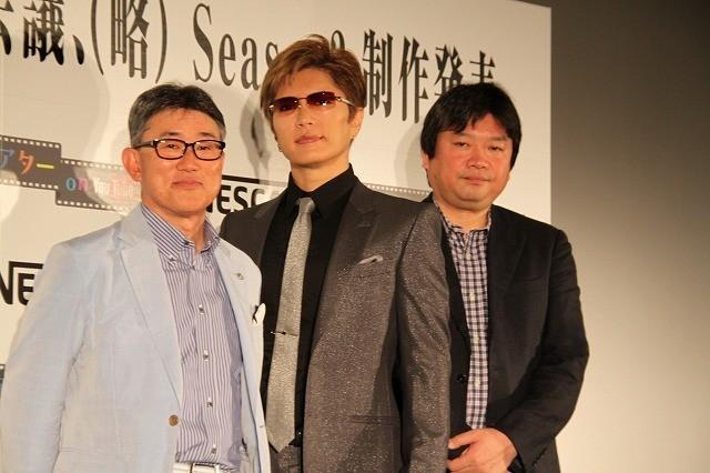 GACKT、本広克行総監督「踊る大宣伝会議(略)」シリーズ第2弾に出演!