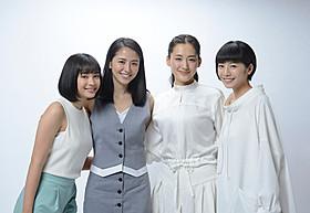 「海街diary」で4姉妹を演じた(左から) 広瀬すず、長澤まさみ、綾瀬はるか、夏帆「海街diary」