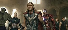 「アベンジャーズ エイジ・オブ・ウルトロン」が 「天空の城ラピュタ」へオマージュ「アベンジャーズ」