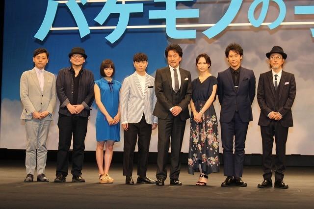 細田守監督、「バケモノの子」完成に感無量「すごいメンツがそろった」