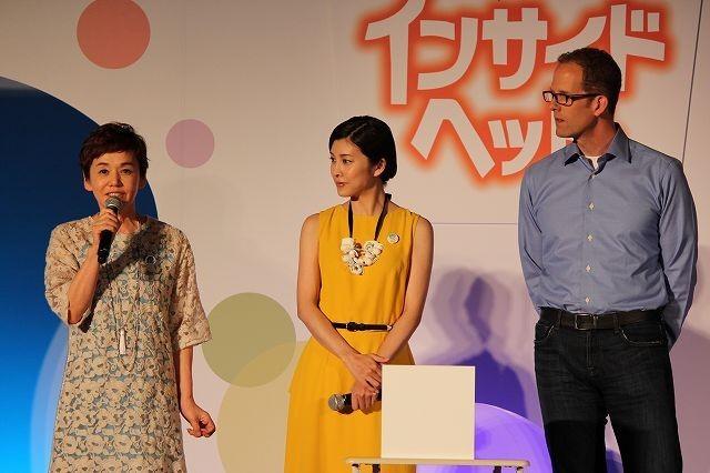 「インサイド・ヘッド」監督、竹内結子&大竹しのぶの美しい演技に感謝