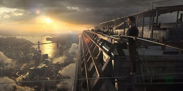 「ザ・ウォーク」地上411メートルの緊張感を味わえるバーチャルシステムが完成!