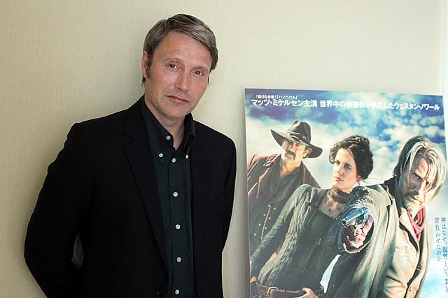 「ハンニバル」でブレイク中のマッツ・ミケルセンが最新作「悪党に粛清を」を語る