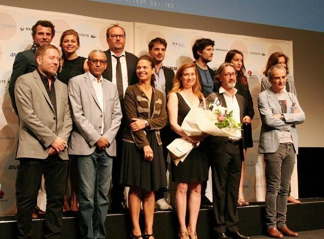 フランス映画祭2015開幕! 団長エマニュエル・ドゥボス「東京を思い切り楽しみたい」