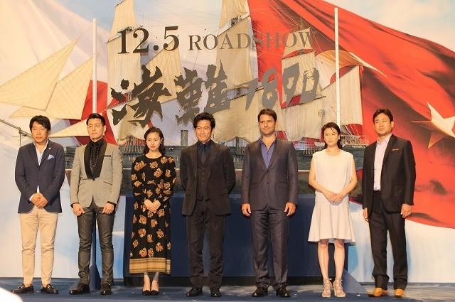 内野聖陽、日本・トルコ合作「海難1890」撮了に感無量!両国首脳からメッセージも到着