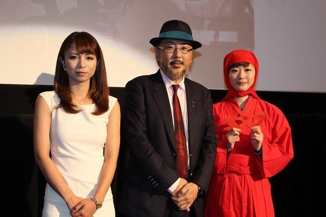 """田名部生来、""""赤影""""坂口祐三郎さんの雄姿にうっとり「ほれますね」"""