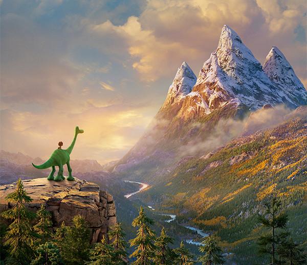 ピクサーの長編16作目は恐竜が主人公「アーロと少年」2016年3月公開決定