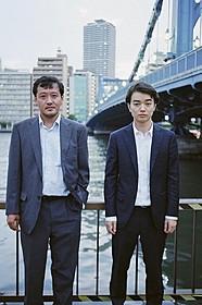 「清澄(仮題)」で監督・主演 を兼ねた染谷将太と川瀬陽太「ローリング」