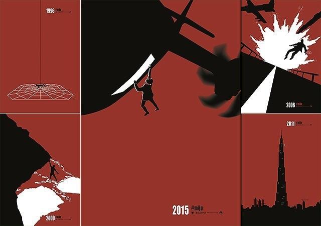 「ミッション:インポッシブル」全シリーズ名場面のアートビジュアル公開