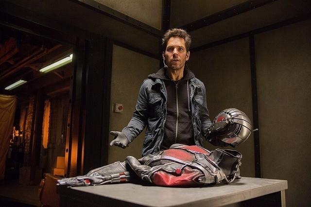【全米映画ランキング】「アントマン」がV。ジャド・アパトー監督の新作は3位デビュー