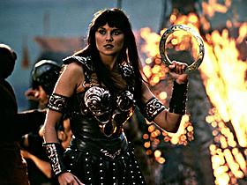 ルーシー・ローレスが演じた女主人公ジーナ「ヘラクレス」