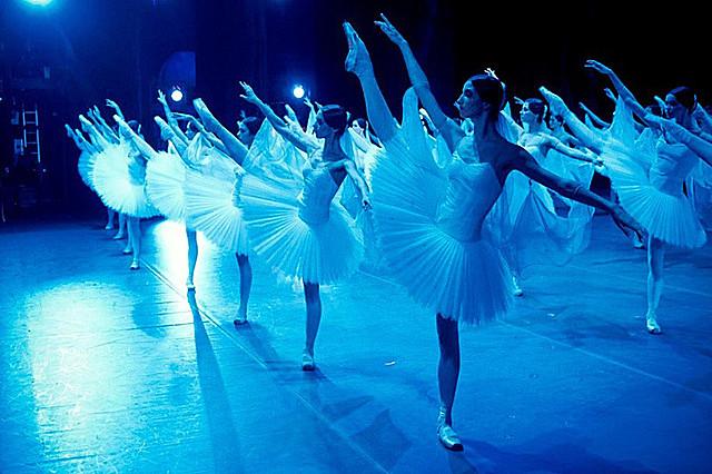 「ボリショイ・バビロン 華麗なるバレエの舞台裏」の一場面