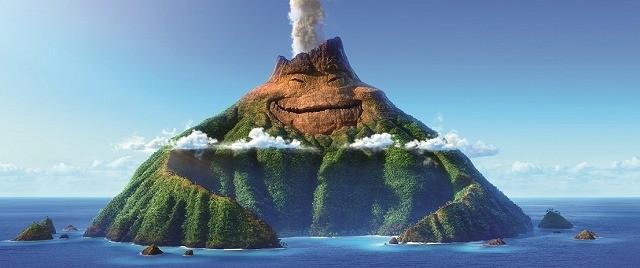主人公は火山島!「インサイド・ヘッド」同時上映短編「南の島のラブソング」特別映像公開