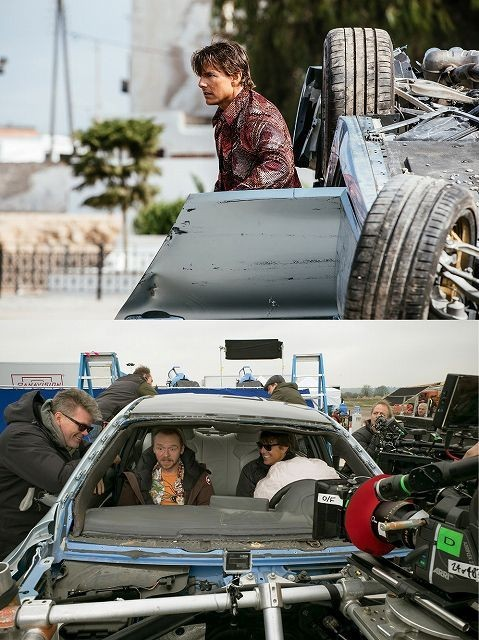 トムのドライブ技術がスゴすぎる!「M:i5」カーアクション映像公開