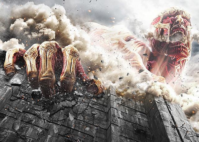 【国内映画ランキング】猛暑の週末は「進撃の巨人」が他作品を駆逐!「ミニオンズ」も2位の好発進