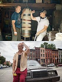 打ち合わせをするビル・マーレイと監督「ヴィンセントが教えてくれたこと」