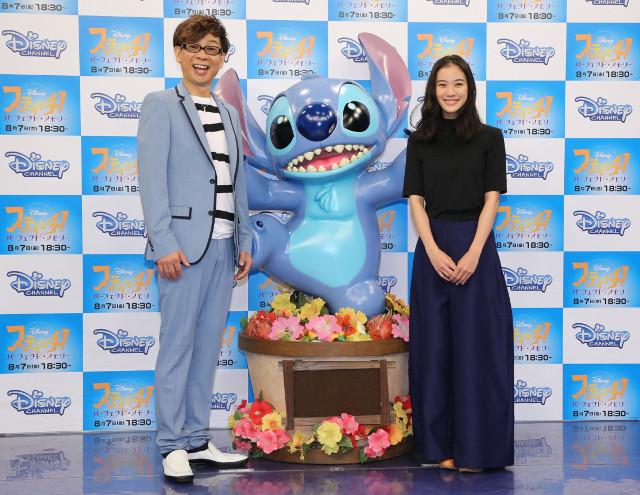 蒼井優が15年ぶりに山寺宏一と共演! 「スティッチ!」公開アフレコで再会