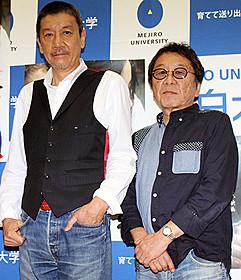 高橋伴明監督と奥田瑛二「赤い玉、」