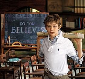 映画「PAN」のリーバイ・ミラーがラルフローレンの広告塔に「PAN ネバーランド、夢のはじまり」
