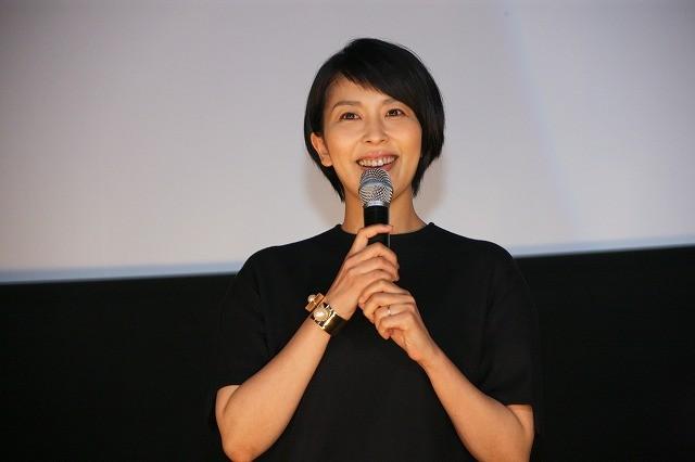 松たか子「HERO」舞台挨拶で出産後初イベント出席!木村拓哉との登壇は8年ぶり