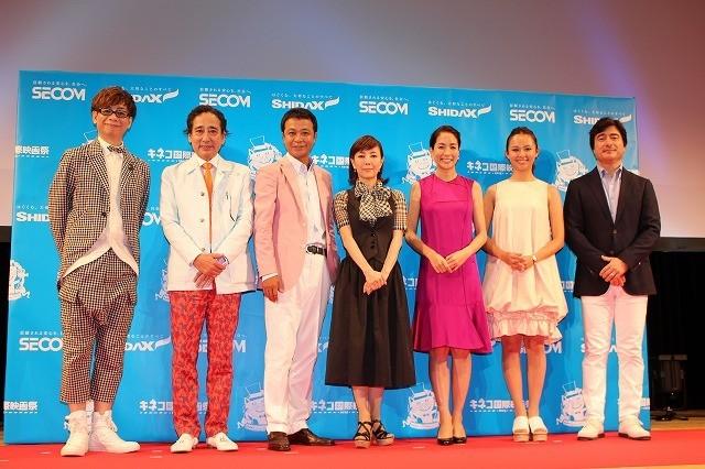 「キネコ国際映画祭」開幕!山寺宏一、戸田恵子らの生吹き替えに観客650人喝さい