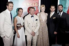 ガイ・リッチー監督を囲む「コードネーム U.N.C.L.E.」出演陣「コードネーム U.N.C.L.E.」