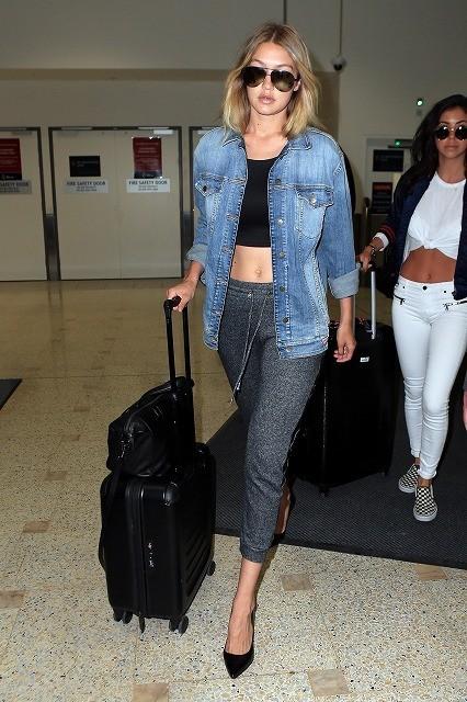 【夏のお手本】旅行シーズン真っ盛り!セレブたちの最新・空港ファッション