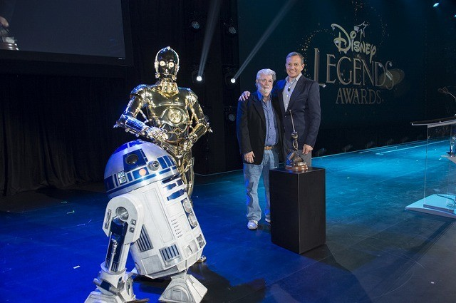 ジョージ・ルーカス、ディズニーファンの祭典で「レジェンド」の称号授与