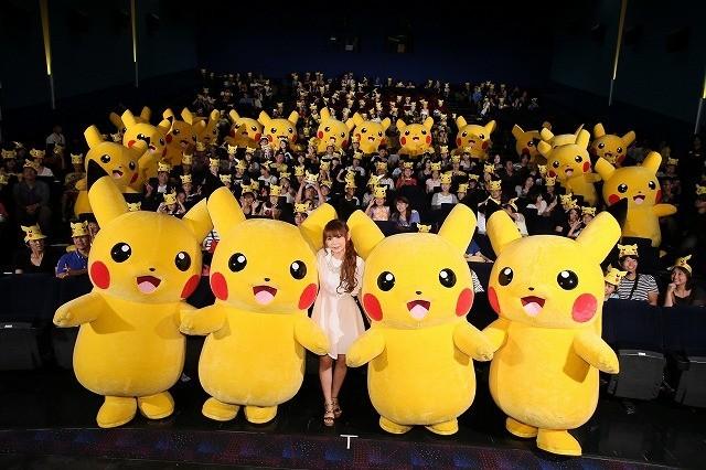 中川翔子、20匹のピカチュウと遭遇し感涙「現世に悔いなし!」