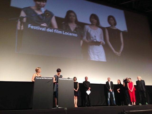 日本人初の快挙!演技未経験4人がロカルノ映画祭最優秀女優賞受賞