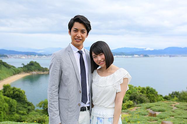 短編「漁船の光」で共演した横山由依と大野拓朗