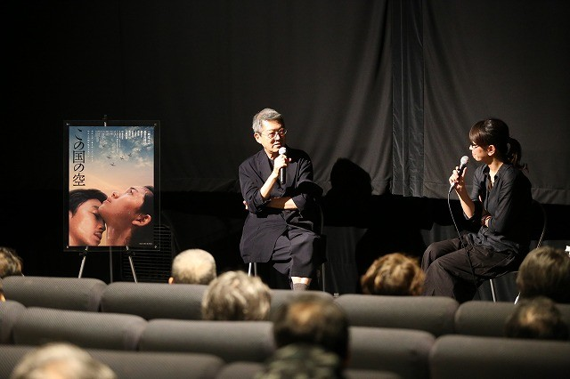 荒井晴彦監督、30年かけて実現した「この国の空」の公開に感無量の面持ち