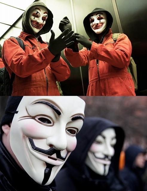 「ピエロがお前を嘲笑う」ハッカー集団「CLAY」は、実在の組織「アノニマス」を意識!?