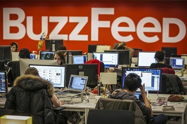 NBCユニバーサル、バズフィードに2億ドル出資