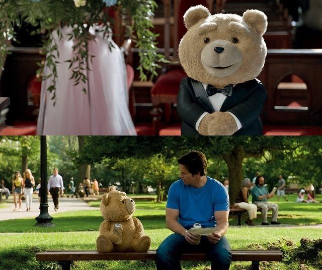 テッドが「ロッキー」のテーマを歌い上げる!「テッド2」TVスポット公開