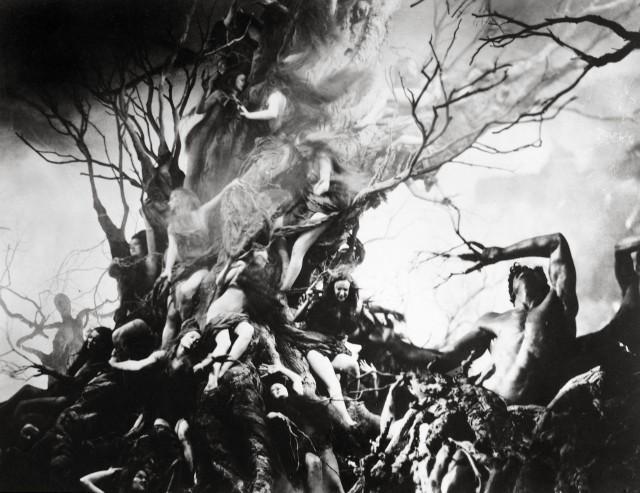 ヘンリー・オットー監督による「インフェルノ」(1924)