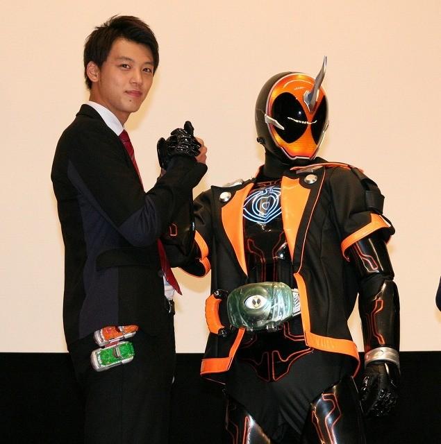 仮面ライダードライブ・竹内涼真、新ライダー・ゴーストにエール