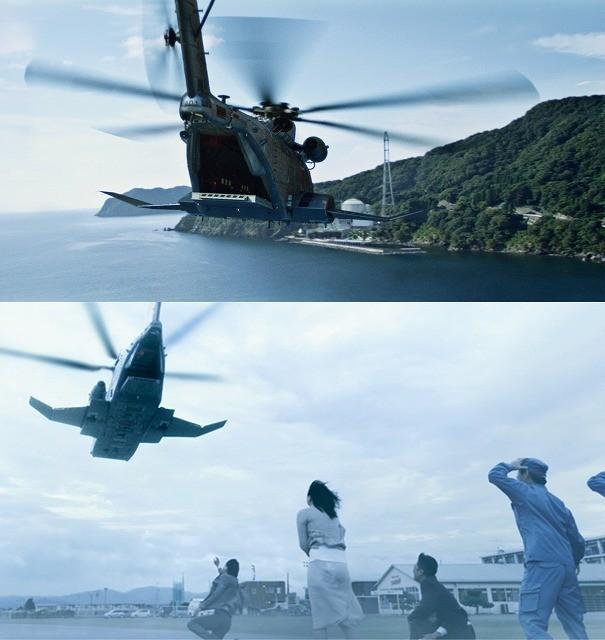 """原発に落ちたらどうなる?「天空の蜂」超巨大ヘリ""""ビッグB""""全容公開"""