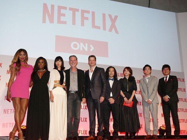 Netflix、国内サービス開始が約3時間前倒し!CEO&日本法人社長が英断