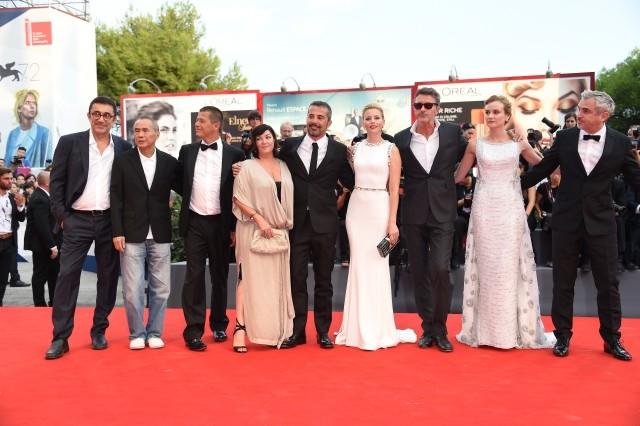 第72回ベネチア国際映画祭が開幕!多彩な審査員の顔ぶれにも注目
