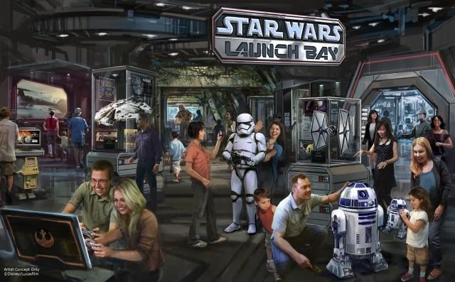 米ディズニーランドの「スター・ウォーズランド」は2016年着工