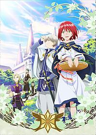 「赤髪の白雪姫」第1クールキービジュアル