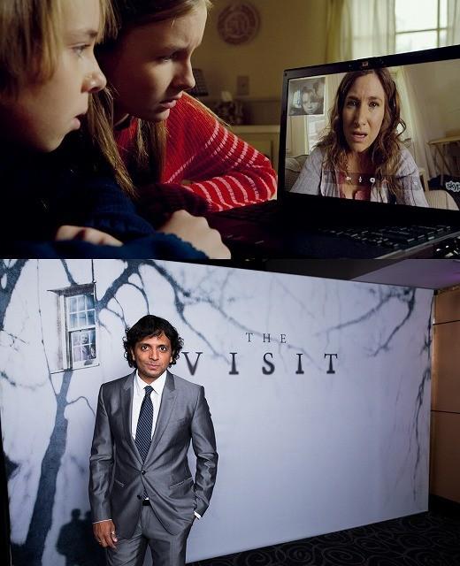 シャマラン監督、原点回帰作「ヴィジット」は日本映画に着想!? 特別映像で明かす