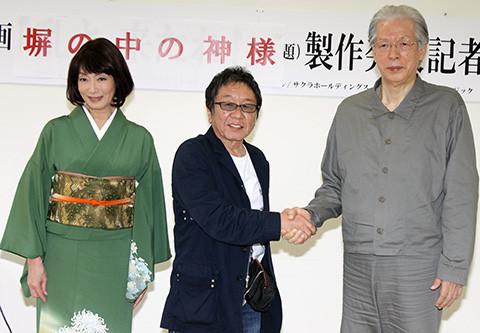 「法の華三法行」元代表・福永法源氏、波乱の半生描く「塀の中の神様」で俳優デビュー